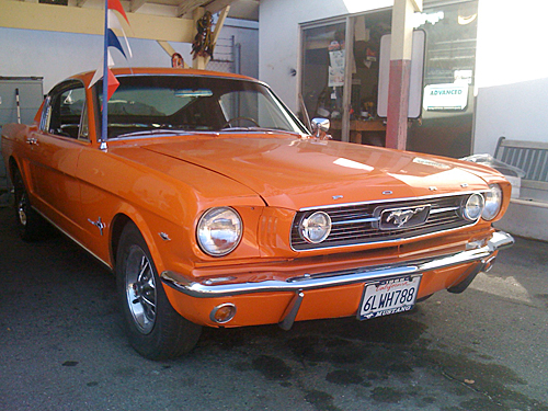 Sell Classic Ford Mustang for Cash