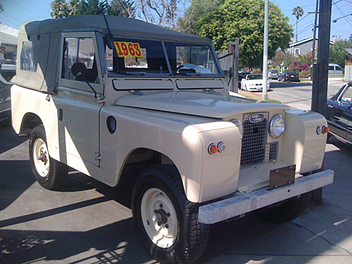 Cash for Classic Trucks in Los Angeles